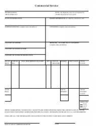 Commercial Invoice Template - Fedex