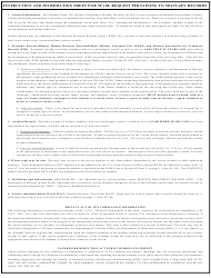 GSA Form SF-180 Request Pertaining to Military Records