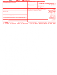 "IRS Form 1099-SB ""Seller's Investment in Life Insurance Contract"", Page 2"