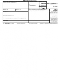 "IRS Form 1099-SB ""Seller's Investment in Life Insurance Contract"", Page 3"