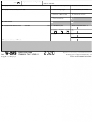 """IRS Form W-2AS """"American Samoa Wage and Tax Statement"""", Page 8"""