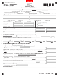 Form IT K-1 - Ohio
