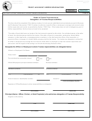 "Form 300 (JUS8804) ""Trust Account Users Delegation"" - California"