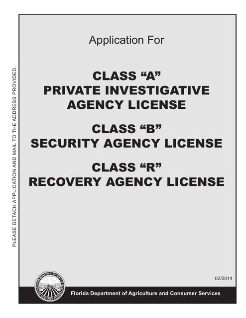 Form FDACS-16022  Printable Pdf
