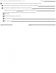 """Form PCM216 """"Order and Report on Alternative Mental Health Treatment"""" - Michigan, Page 3"""