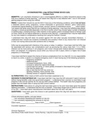 """Levonorgestrel (Lng) Intrauterine Device (Iud) Consent Form"" - New Mexico"
