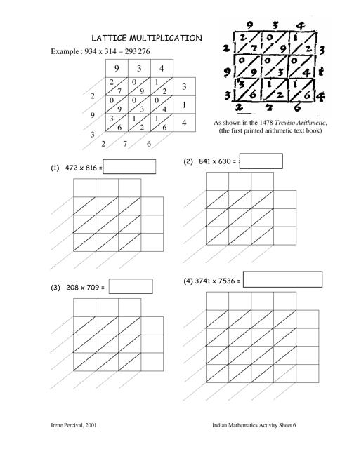lattice multiplication worksheet  peter liljedahl simon fraser  lattice multiplication worksheet  peter liljedahl simon fraser university  download pdf