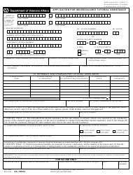 VA Form 22-1990t Application for Individualized Tutorial Assistance