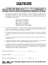 """Obligated Service Agreement Student Loan Repayment Plan"" - Maryland"
