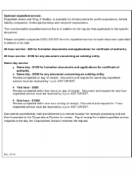 "Form CSCL/CD-754 ""Certificate of Conversion for Use by a Limited Liability Company Converting Into a Business Organization"" - Michigan, Page 7"