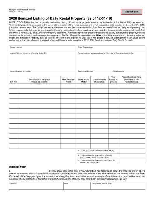 Form 3595 2020 Printable Pdf