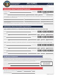 """Professional Fundraiser Renewal Application"" - Missouri"