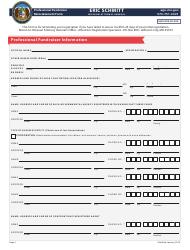 """""""Professional Fundraiser Reinstatement Form"""" - Missouri"""