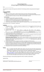 """Np Locum Request Form"" - New Brunswick, Canada"