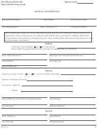"""Form MP-2 """"Medical Records and Release Form"""" - Texas"""