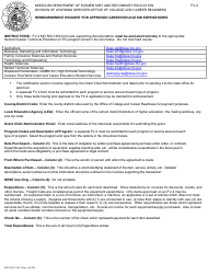 """Form FV-2 (MO500-1303) """"Reimbursement Request for Approved Career Education Expenditures"""" - Missouri"""