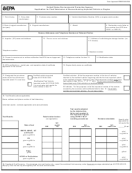 "EPA Form 3520-8 ""Application for Final Admission of Nonconforming Imported Vehicle or Engine"""