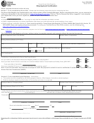 "Form 5506-NAR ""Texas Nurse Aide Registry Employment Verification"" - Texas"