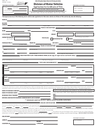 """Form DMV-1-TR """"Application for Certificate of Title"""" - West Virginia"""