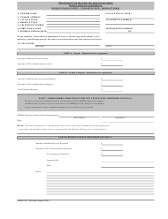 "Form DHMH437 ""Request for Payment - Vendor Invoice"" - Maryland"