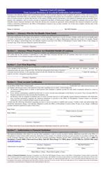 "Appendix E ""Trust Account Disclosure & Overdraft Notification Authorization"" - Louisiana"