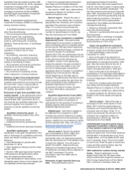 """Instructions for IRS Form 1065 Schedule D """"Capital Gains and Losses"""", Page 4"""