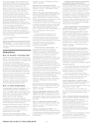 """Instructions for IRS Form 1065 Schedule K-1 """"Partner's Share of Income, Deductions, Credits, Etc. (For Partner's Use Only)"""", Page 11"""