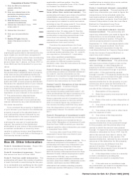 """Instructions for IRS Form 1065 Schedule K-1 """"Partner's Share of Income, Deductions, Credits, Etc. (For Partner's Use Only)"""", Page 16"""