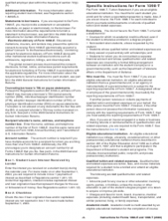 """Instructions for IRS Form 1098-E, 1098-T """"Student Loan Interest Statement and Tuition Statement"""", Page 2"""