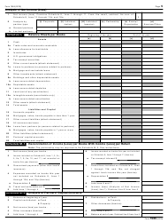 "IRS Form 1065 ""U.S. Return of Partnership Income"", Page 5"