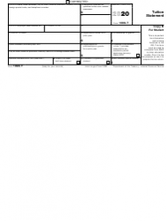 """IRS Form 1098-T """"Tuition Statement"""", Page 2"""