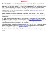 """IRS Form 1099-K """"Payment Card and Third Party Network Transactions"""", 2020"""