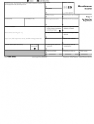 "IRS Form 1099-MISC ""Miscellaneous Income"", Page 3"
