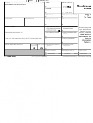 "IRS Form 1099-MISC ""Miscellaneous Income"", Page 7"