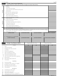 """IRS Form 3520-A """"Annual Information Return of Foreign Trust With a U.S. Owner"""", Page 2"""