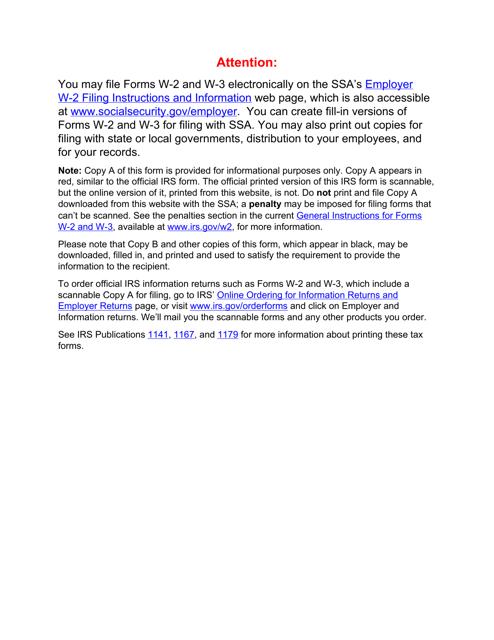 IRS Form W-3 2020 Printable Pdf