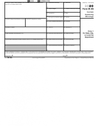 "IRS Form W-2G ""Certain Gambling Winnings"", Page 2"