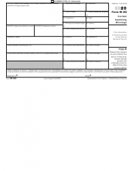 "IRS Form W-2G ""Certain Gambling Winnings"", Page 3"