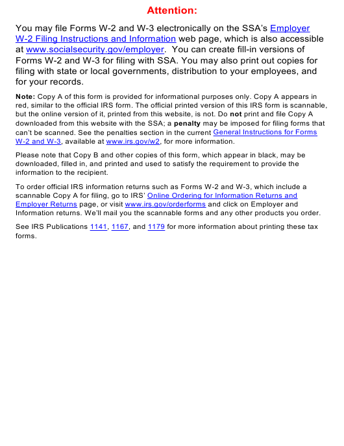 IRS Form W-2GU 2020 Printable Pdf