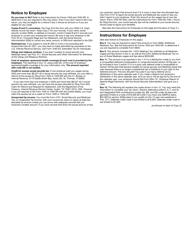 "IRS Form W-2VI ""U.S. Virgin Islands Wage and Tax Statement"", Page 5"