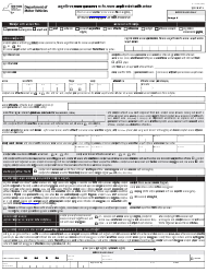 """Form MV-44N """"Application for Permit, Driver License or Non-driver Id Card"""" - New York (Nepali)"""