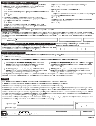"""Form MV-44N """"Application for Permit, Driver License or Non-driver Id Card"""" - New York (Nepali), Page 2"""