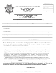 """Application for Registration of a Retail Co-op Agent Only"" - Arizona"