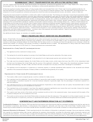 "Form DS-156E ""Nonimmigrant Treaty Trader/Investor Application"""