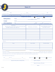 """Form L-9 """"Affidavit for Real Property Tax Waiver: Resident Decedent"""" - New Jersey, Page 2"""