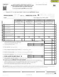 "Form RV-2 ""Periodic Rental Motor Vehicle, Tour Vehicle, and Car-Sharing Vehicle Surcharge Tax"" - Hawaii"