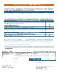 """Form TS-1P (State Form 53915) """"Tax Statement"""" - Indiana, 2020"""