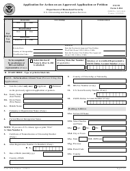 "USCIS Form I-824 ""Application for Action on an Approved Application or Petition"""