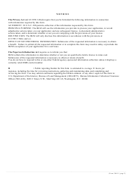 """Form 3440-1 """"Application and License to Mine Coal (Free Use)"""", Page 3"""
