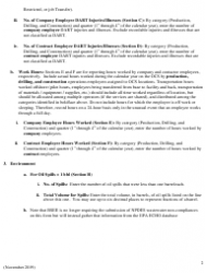 """Instructions for Form BSEE-0131 """"Performance Measures Data"""", Page 2"""